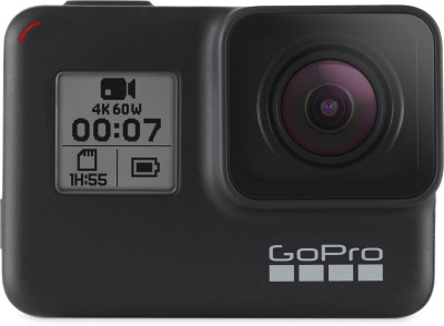 GoPro Hero7 (with 3 Way Mount) Sports and Action Camera