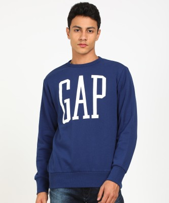 GAP Full Sleeve Printed Men Sweatshirt