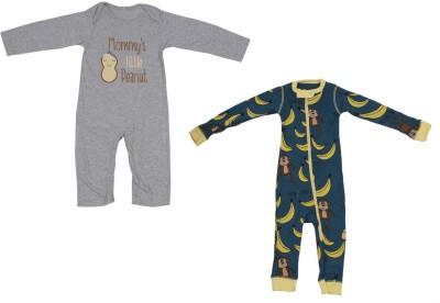 Indirang Baby Boys & Baby Girls Multicolor Bodysuit