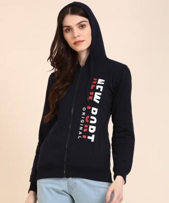 Newport Full Sleeve Printed Women Sweatshirt