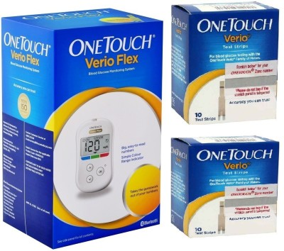 OneTouch Verio Meter with 20 Test Strips Health Care Appliance Combo