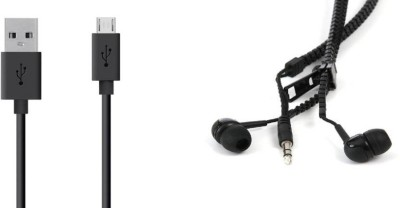 Webilla Cable Accessory Combo for All Android Mobiles, Tablet, Laptop