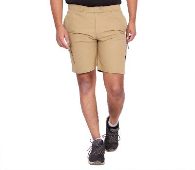 Kuber Industries Solid Men Light Green Bermuda Shorts