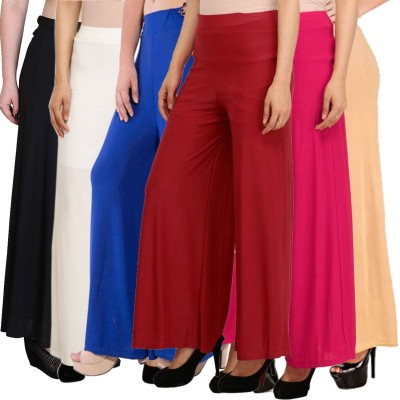 Pixie Relaxed Women Multicolor Trousers