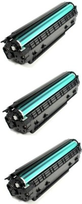 ANG CC388A / 88A (PACK OF 3) Toner Cartridge For Use in HP P1007/ P1008/ Pro P1106/ Pro P1108/ Pro M1136 MFP/ Pro M1213nf MFP/ Pro M1216nfh MFP/ Pro M1218nfs MFP/ Pro M126nw MFP/ Pro M128fn MFP/ Pro M128fw MFP ) Single Color Ink Cartridge