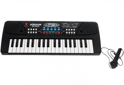 Miss & Chief 37 Key Piano Keyboard Toy with DC Power Option, Recording and Mic