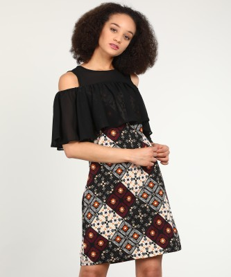AND Women Shift Multicolor Dress