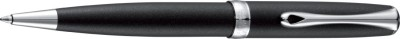 Diplomat Excellence A2 Lapis Black Matt Chrome easyFLOW Ball Pen