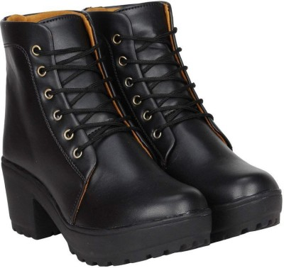 Gusto High Ankel Boots For Women