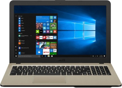 Asus Pentium Quad Core - (4 GB/1 TB HDD/Windows 10 Home) X540MA-GQ098T Laptop