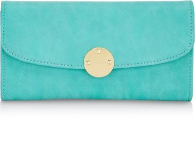 Caprese Women Blue Artificial Leather Wallet