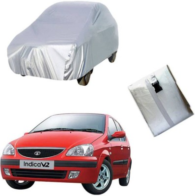 ask Car Cover For Tata Indica V2 (Without Mirror Pockets)