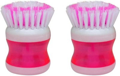 Majik Combo Of 2 Pedicure Brush For Men And Women, Pedicure Brush For Home And Salon Use, Salon Accessories, Set Of 2, Pink, Pack Of 1