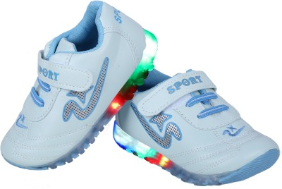LNG Lifestyle Boys & Girls Velcro Running Shoes