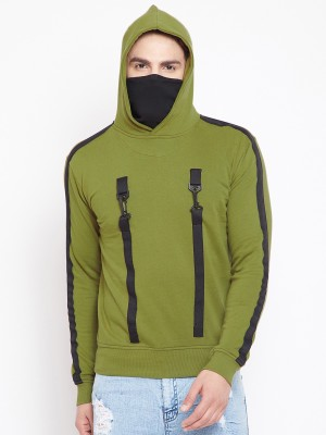 Fugazee Full Sleeve Color Block Men Sweatshirt