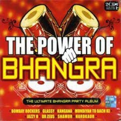 The Power of Bhangra - CD(Hindi Songs/ Indian Music/Bollywood Sound Track) by Various audio cd