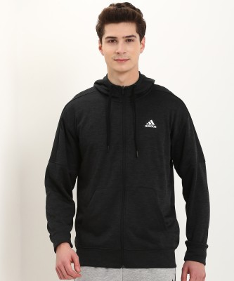 ADIDAS Full Sleeve Self Design Men Sweatshirt