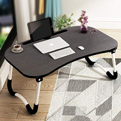 Tarkan Foldable Wooden Laptop Desk for Bed Wood Portable Laptop Table
