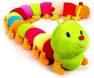 GIFTERIA Cute Colorful Caterpillar Soft Toy  - 55 cm