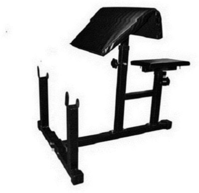 FACTO POWER Preacher Bench (With 75 Kg. Holding Capacity) Multipurpose Fitness Bench