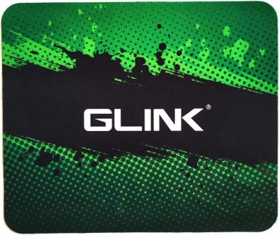 Glink mouse pad gaming laptop computer green and black 24x20 cm size Mousepad