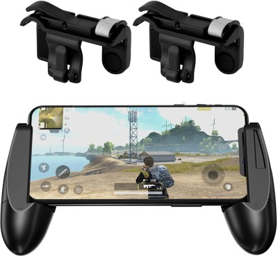 LIFEMUSIC Mobile Phone Shooter Controller Joystick Remote Plus Trigger Fire Button Handle Cell Phone Adapter for PUBG Gaming  Joystick