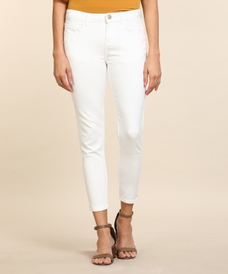 Jealous 21 Slim Women White Jeans