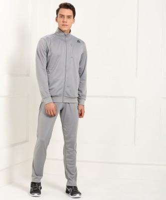 REEBOK Solid Men Track Suit