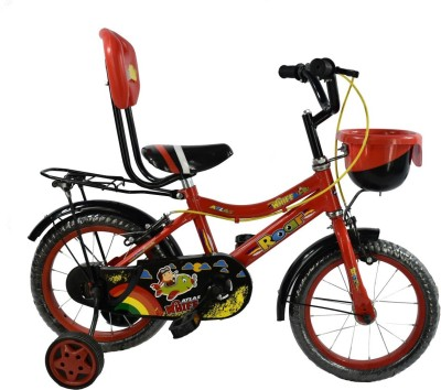 Atlas Whiff Bike For Kids Of Age 2-5 Yrs Red & Black 14 T Recreation Cycle