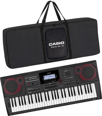 Casio KH38 + CBC700 Black CT-X9000IN + CBC700 Black Carry Case Digital Portable Keyboard