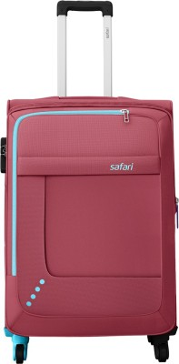 Safari STAR 65 4W RED Expandable  Check-in Luggage - 26 inch