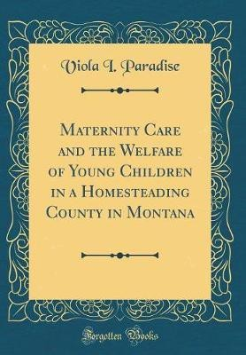 Maternity Care and the Welfare of Young Children in a Homesteading County in Montana (Classic Reprint)