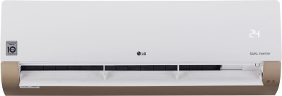 LG 1 Ton 3 Star Split Dual Inverter AC with Wi-fi Connect  - White, Gold