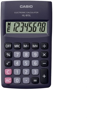 Casio HL-815L-BK Portable Basic  Calculator