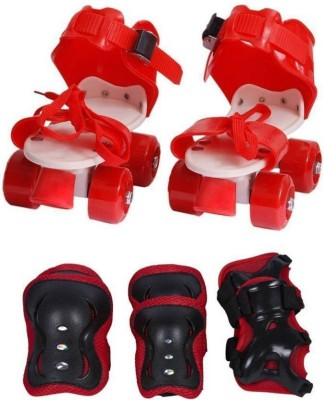 DMTE skate with the kit for kids Quad Roller Skates - Size 4.5-7.5 Quad Roller Skates - Size 4--8 UK