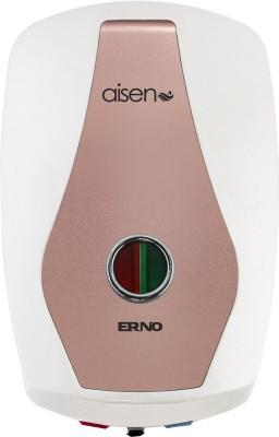 Aisen 3 L Instant Water Geyser (3ltr Mettalice Silver Storage water Heater, Rose Gold)