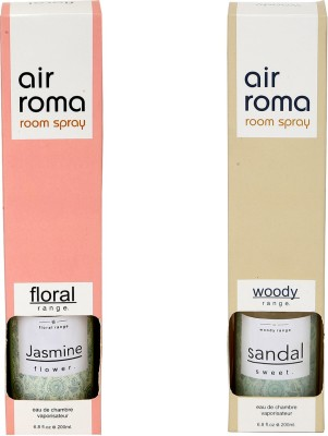 Airroma Jasmine Flower, Sandal Sweet Spray