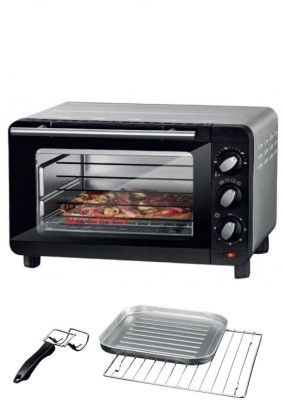 BMS Lifestyle 14-Litre BMS-306484 Tasteful Technology Baking & Toasting Silver Crest Oven Toaster Grill (OTG)