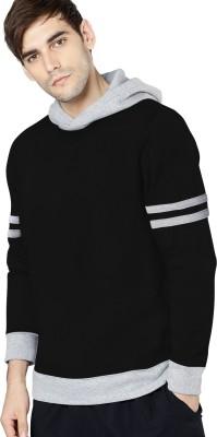Young Trendz Full Sleeve Solid Men's Sweatshirt