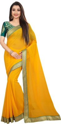 Anand Sarees Self Design Fashion Chiffon Saree