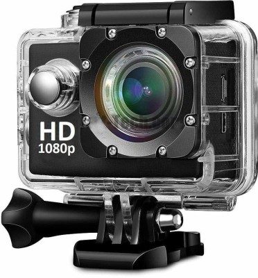 akshar 2K Action Camera 1080P 12MP Sports Camera Full HD 2.0 Inch Action Cam 30m/98ft Underwater Waterproof Camera Sports and Action Camera