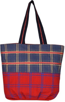 Pickpocket Women Blue, Red Tote