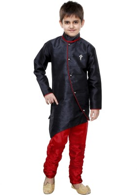 SKDC Boys Festive & Party Kurta and Churidar Set