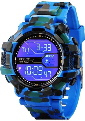SHOPIFY BLUE ARMY WATCH FOR KIDS & MEN Digital Watch  - For Boys