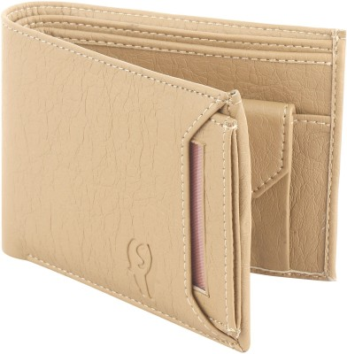 SAMTROH Men Casual Beige Artificial Leather Wallet