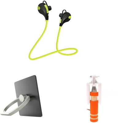 MINIFOX Headset Accessory Combo for Mobile Phones And Laptop