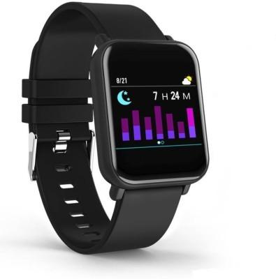 CELESTECH R6 Flip IP67 Waterproof HR & BP Monitor Black Smartwatch
