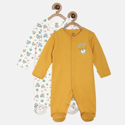 Mini Klub Baby Boys Multicolor Sleepsuit