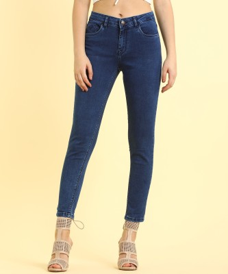 Flying Machine Skinny Women Blue Jeans