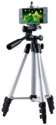 LIFEMUSIC Reasonable price Durable and practical Top Sales Item Best Material HIGH QUALITY Tripod-3110 Portable Adjustable Aluminum Lightweight Camera Stand With Three-Dimensional Head & Quick Release Plate For Video Cameras and mobile Tripod